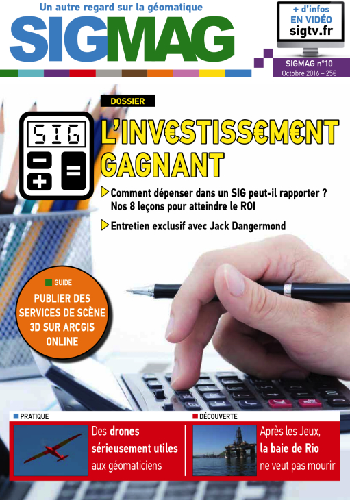 SIGMAG n°10 : Comment obtenir le retour sur investissement de votre SIG ?