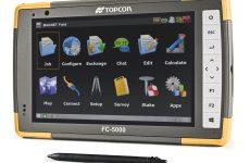 FC-5000 Topcon : carnet 7 pouces
