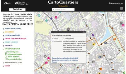 CartoQuartiers : des Nantais participatifs…