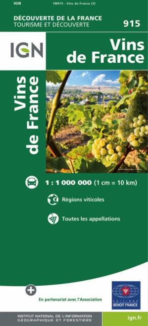 LA carte indispensable aux amateurs de vins !