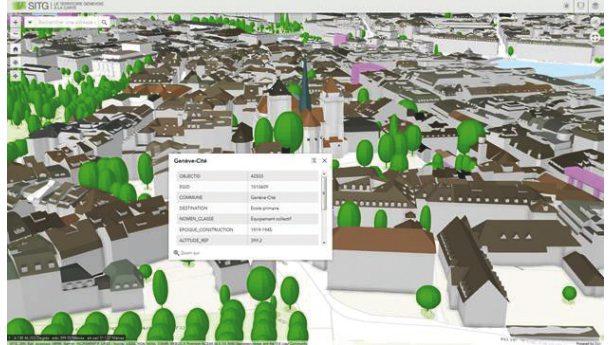 Nouvelle carte 3D pour le Grand Genève