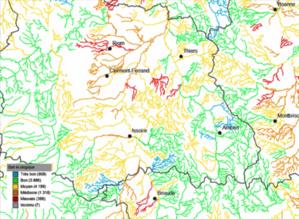 État écologique des cours d'eau data.eaufrance.fr