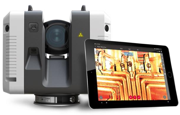 Scanner laser 3D Leica RTC360