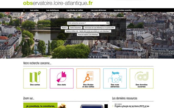 Portail Observatoire pour la Loire-Atlantique