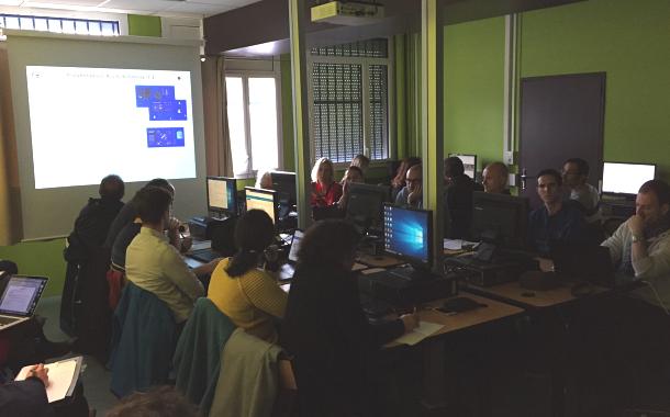 Les enseignants de SVT formés à ArcGIS Online