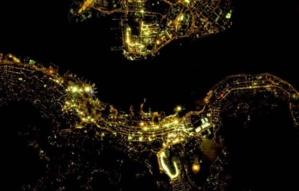 La TeleScop distribue les images de nuit de CG Satellite