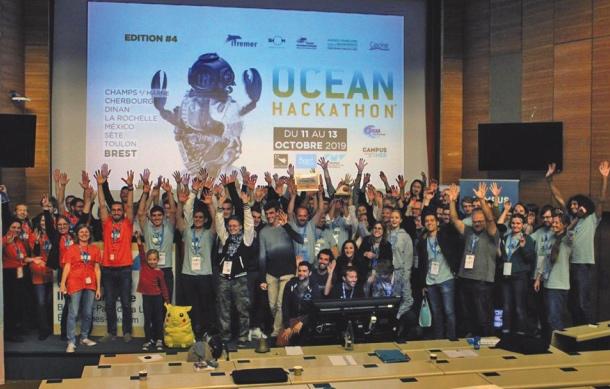 Un 1er Ocean Hackathon « multi-site », remporté par une équipe de Mexico