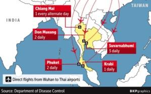 Infographie parue dans le Bangkokpost pour résumer les vols à risques