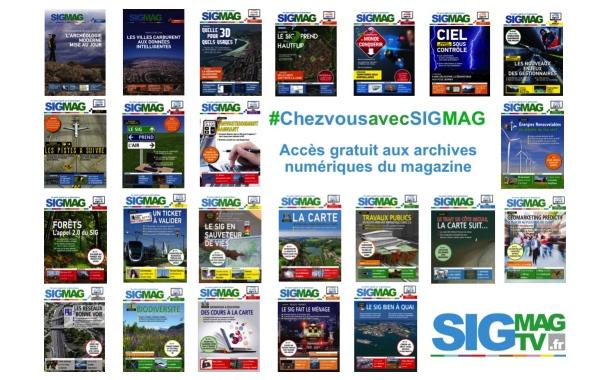 #ChezvousavecSIGMAG : accédez gratuitement aux archives numériques de SIGMAG