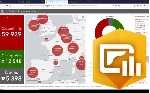 Covid-19 : Plus de 1.000 géomaticiens réunis en ligne autour d'ArcGIS Dashboards