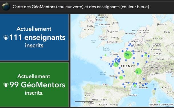 Esri France reconduit jusqu'en 2025 son programme de gratuité pour l'enseignement primaire et secondaire