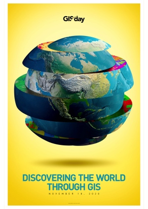 GIS day 2020 : de nouveaux posters à télécharger