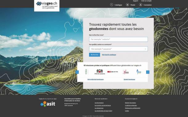Viageo.ch : un nouveau chemin vers la géodonnée