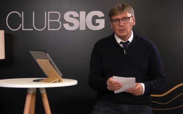 CLUB SIG, votre émission quotidienne en direct du lundi 11 au vendredi 15 octobre durant [LIVE] SIG 2021