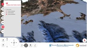 Vectuel a assisté TPM dans la constitution de leur modèle numérique de fonds marins au large de Toulon