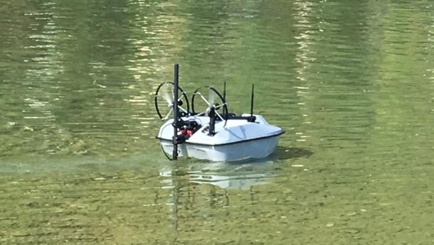 Un drone pour scruter les rivières