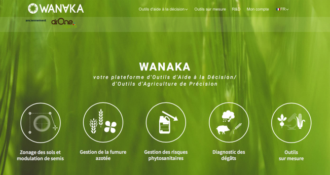 Drone agricole devient Wanaka