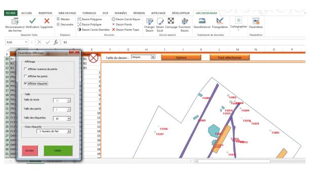 De la topographie au SIG avec un simple fichier Excel