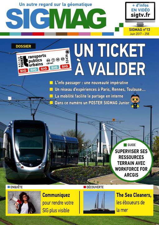 Transports publics urbains et SIG : un ticket à valider