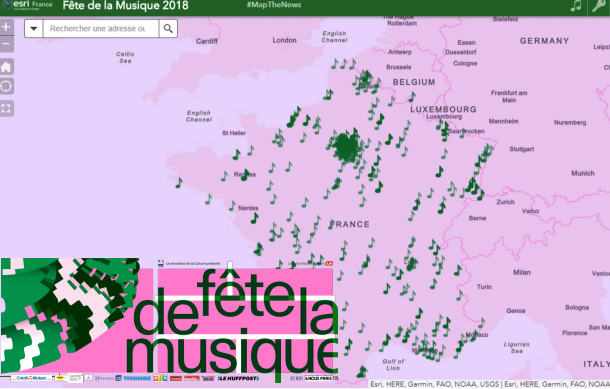 Fête de la musique 2018 : #MaptheNews se fait mélomane