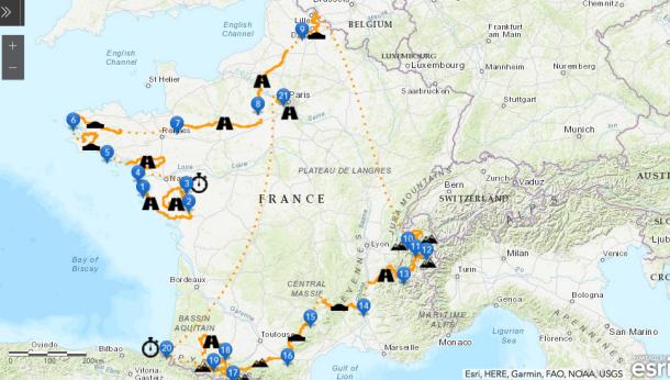 Le Tour de France 2018 bien encarté