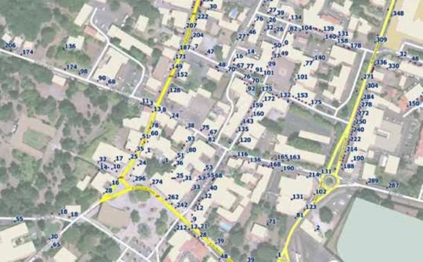 Base Adresse Nationale, Commune de Biscarosse