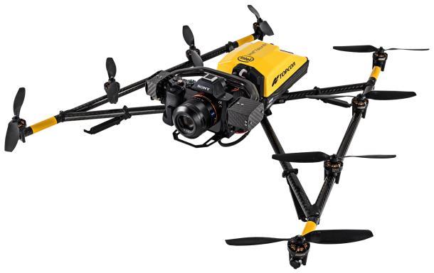 Drone Intel Facon 8+ édition Topcon