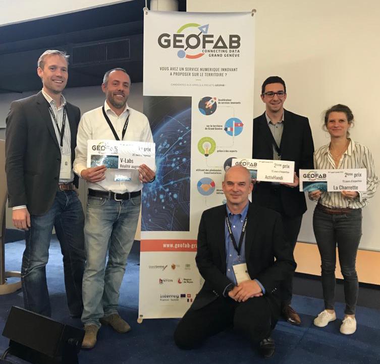 V-Labs, lauréat du 3ème appel à projets du Géofab