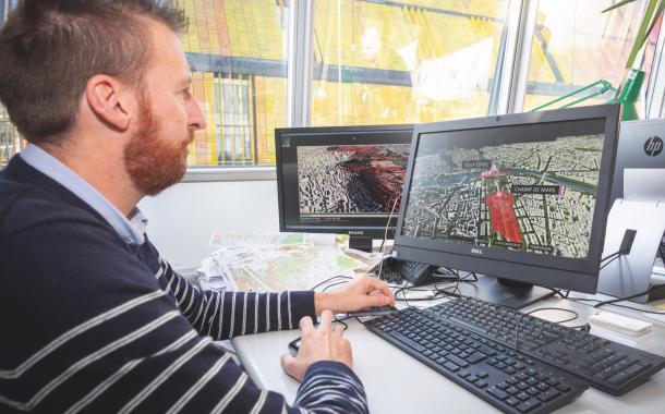 Les données 3D de l'IAU îdF en socle de «Smart Plateforme 2030»