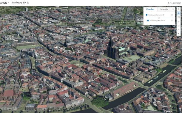 Strasbourg en 3D
