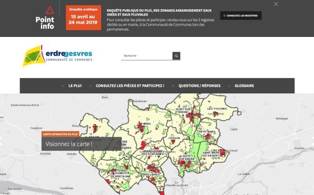 CC Erdre & Gesvres : une carte interactive pour valider le projet de PLUi