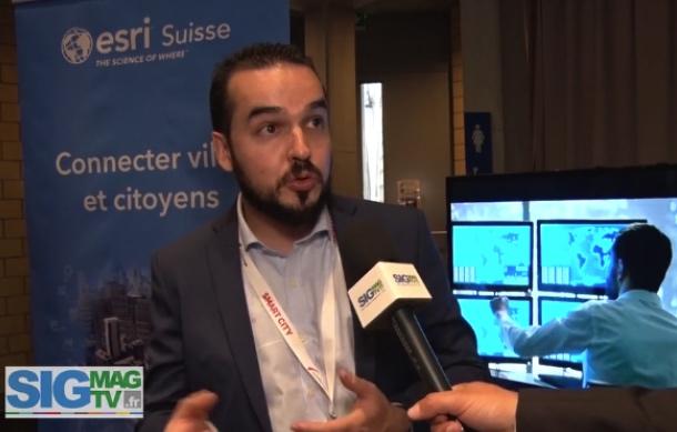 Smart City Day 2019 : Esri Suisse au service de la Smart city