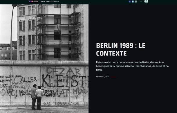 La chute du mur de Berlin, 30 ans après