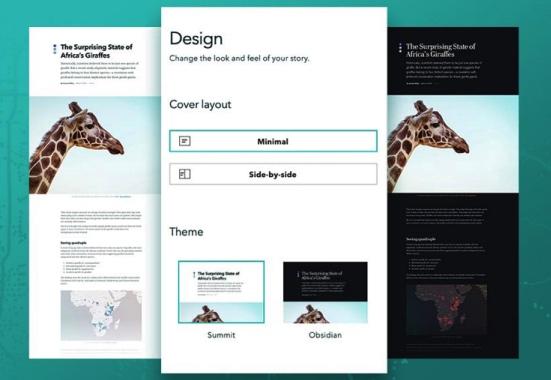 Storyteller : Esri crée un nouveau type d'utilisateur ArcGIS Online pour juste créer des StoryMaps