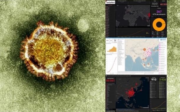Épidémie de Coronavirus : les Dashboards Esri affichent plus de 700 millions de consultations