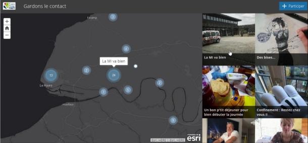 Covid-19 : mobilisés, les services SIG des collectivités ouvrent très vite des applications dédiées