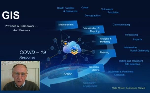 Jack Dangermond résume l'importance de l'information géographique pour gérer la crise du Covid-19