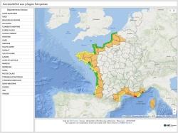 Déconfinement : la carte des plages dynamiques ouvertes