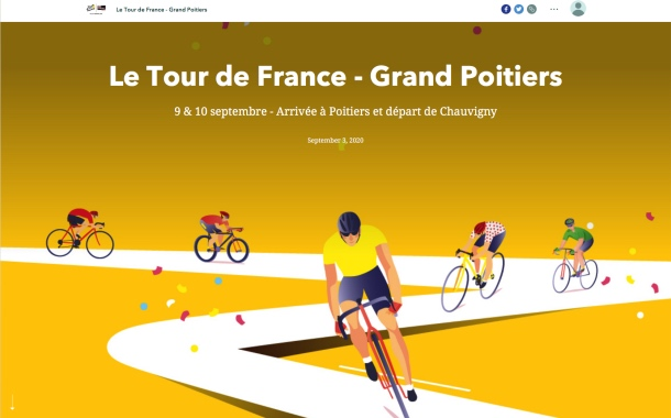 Tour de France 2020 : côté carto, rien ne change