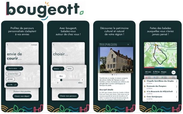Bougeott : une application pour bouger utile en Ile-de-France