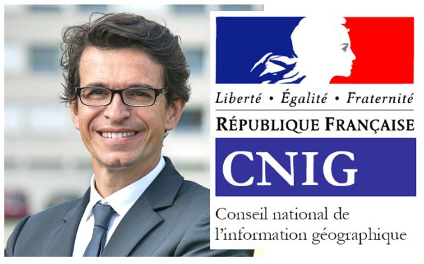 Bertrand Monthubert est le nouveau Président du CNIG