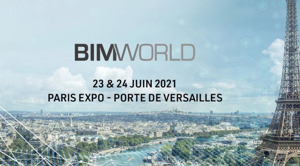 BIM World : vous avez rendez-vous à Paris !