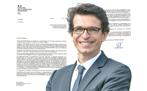 CNIG : Barbara Pompilli fixe les priorités de Bertrand Monthubert, aussi réélu Président d'OpenIG