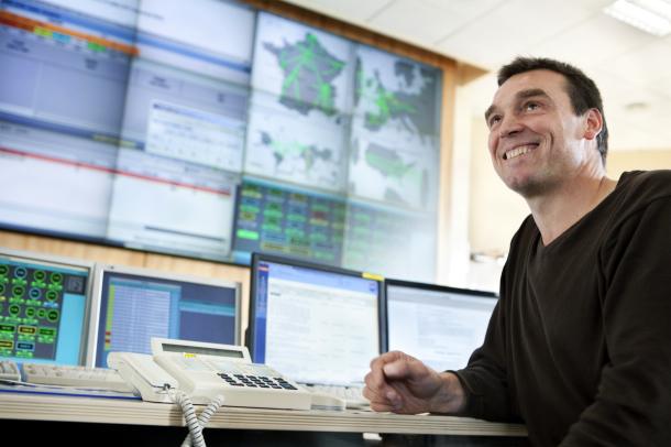 L'opérateur Orange dispose de centres de supervision pour suivre ses activités © Orange