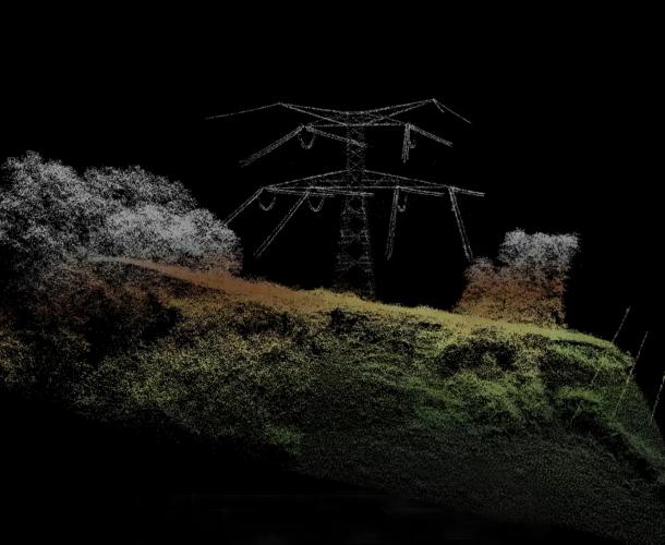 L'ULM pour survoler les lignes électriques