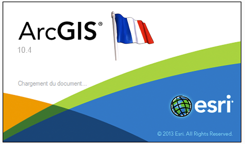 ArcGIS 10.4 disponible en français