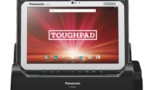 Tablette Panasonic Toughpad FZ-A pour travailler mobile