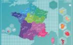 C'est le printemps : la nouvelle carte de France est arrivée !