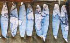 Des globes terrestres «Hand Made»