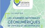 Participez aux GéoDataDays 2018